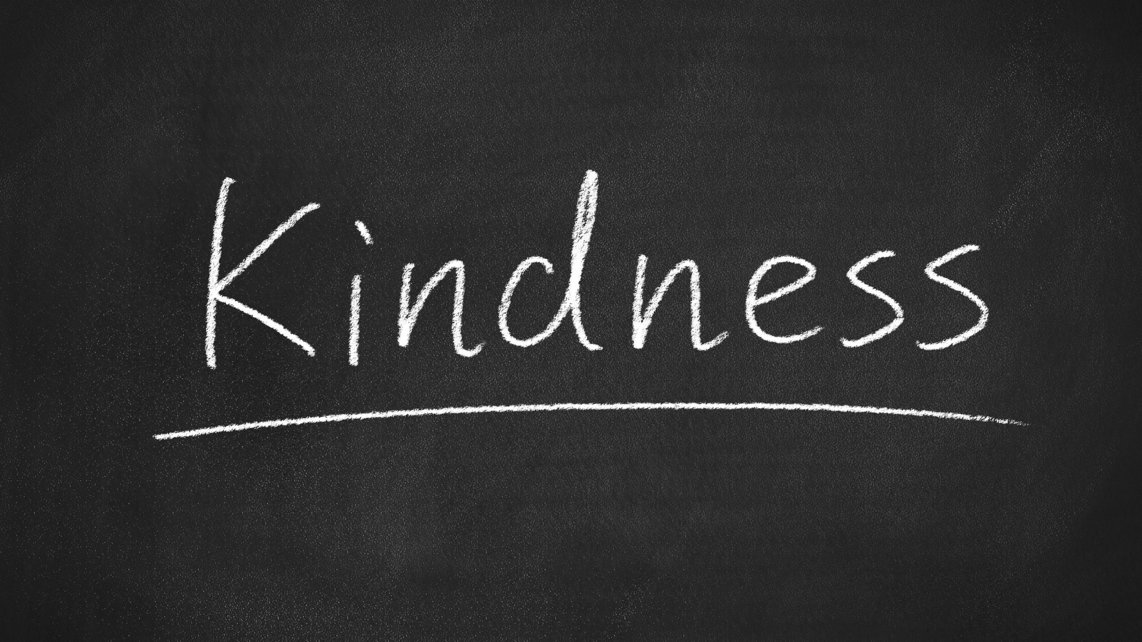 It's Time to Be Kind!