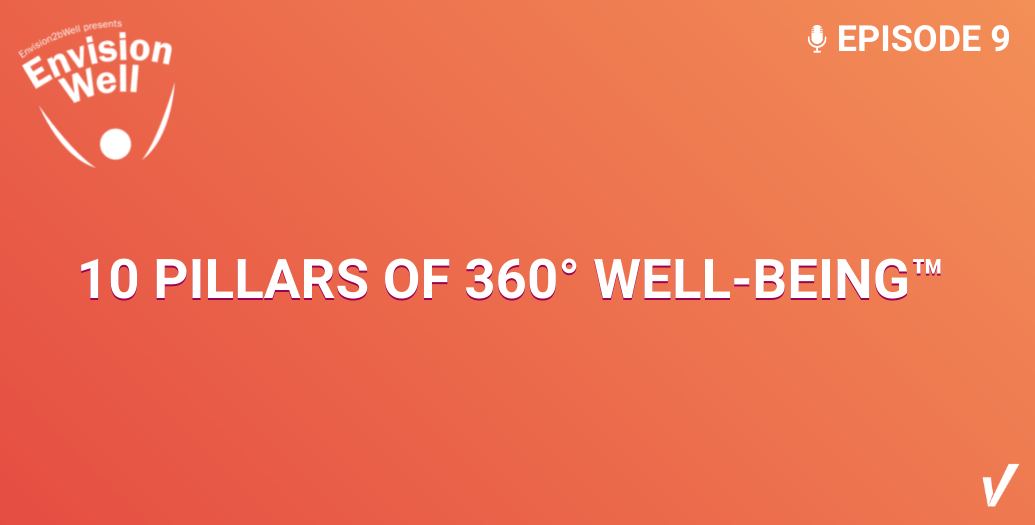 EnvisionWell Podcast: 10 Pillars of 360° Well-Being™
